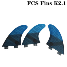 FCS K2.1 surf fins Free shipping Board Surf Fins Fibreglass Surfboard fcs 1 M size thruster fin