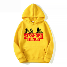 Weiqi Story Print MenS Hoodie European Casual Spring Autumn Coat Stranger Things Tide Brand New