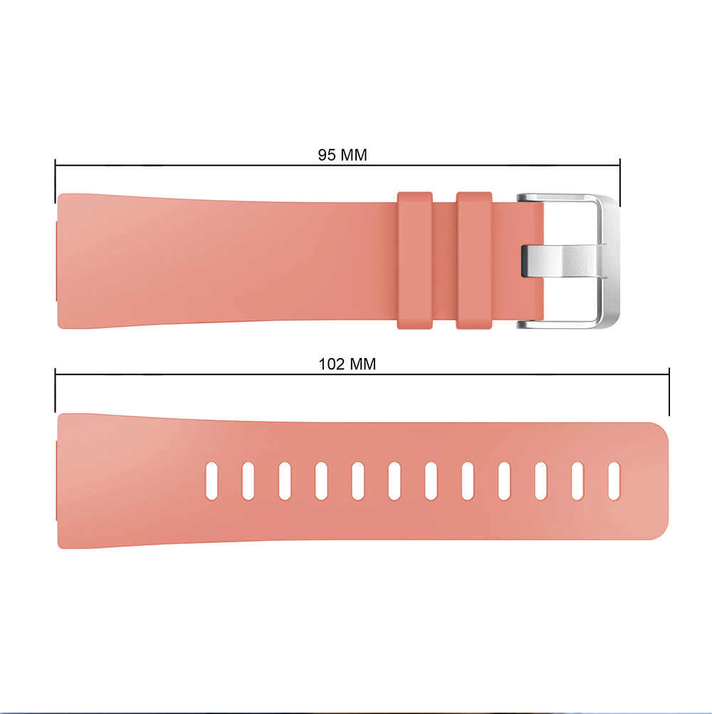 Correa de muñeca impermeable clásica de silicona suave YAYUU Compatible con Fitbit versal 1/versal 2/versal Lite Smart Watch banda ajustable