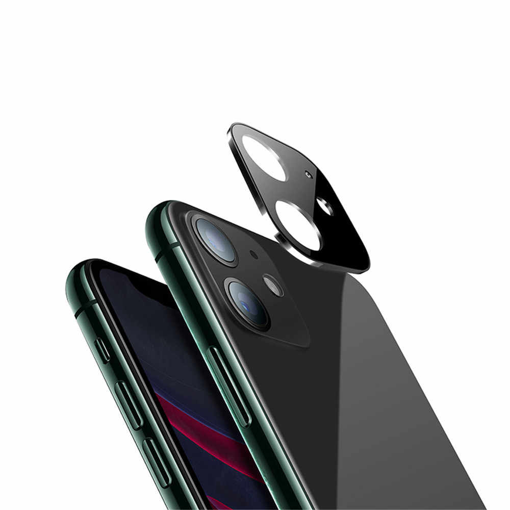 EGECD  Applicable to  For iphone11 new zinc alloy glass lens film  For iPhoneXsMax rear camera protection ring For iphone 11 pro