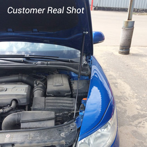 Image 5 - For Skoda Octavia A5 2004 2013 Typ1Z Car styling Refit Bonnet Hood Gas Shock Lift Strut Bars Support Hydraulic Rod Accessories
