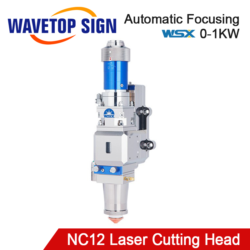 WaveTopSign WSX NC12 1000W 0-1KW Automatic Focusing Fiber Laser Cutting Head For Metal Cutting