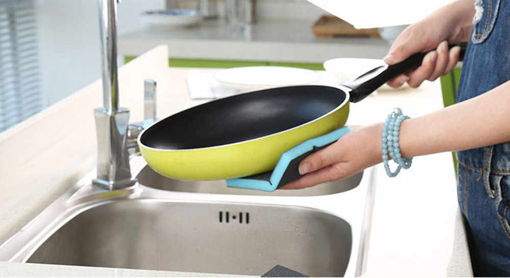 ใหม่ครัว Nano Emery เมจิกทำความสะอาดถูหม้อสนิมคราบฟองน้ำถอดชุดทำความสะอาดห้องน้ำอุปกรณ์เสริม