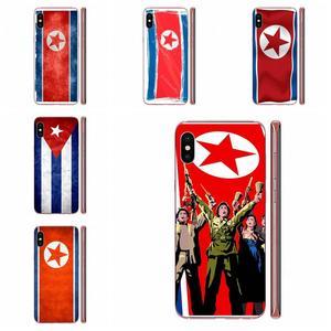Doux Étui Corée Du Nord Grunge Drapeau Pour Xiaomi Redmi 3 3S 4 4A 4X 5 6 6A 7 K20 Note 2 3 4 5 5A 6 7 Plus Pro