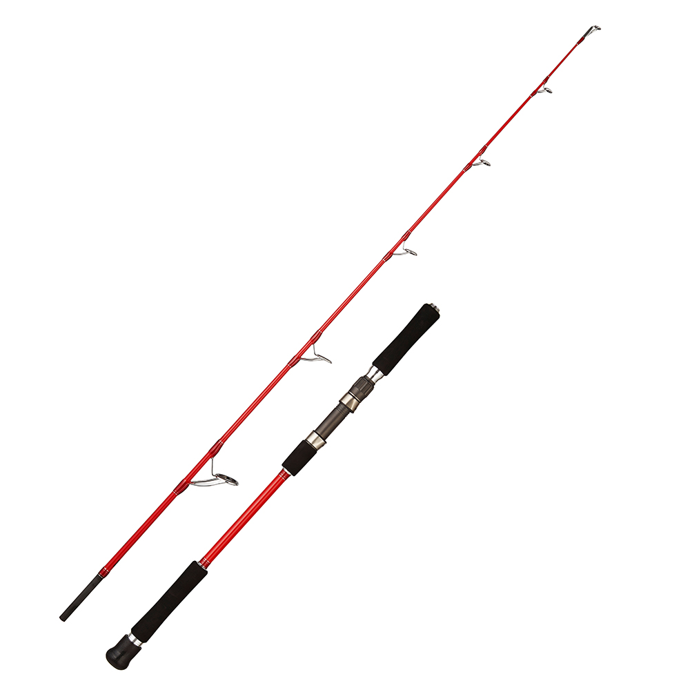 Noeby leisure k5 jigging fishing rod high carbon M MH power 1.83m 323g 335g 2 pieces