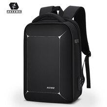 Fenruien תלת ממדי TSA מנעול אנטי גניבה גברים 15.6 אינץ מחשב נייד תרמיל USB טעינה עסקים עמיד למים נסיעות תרמיל
