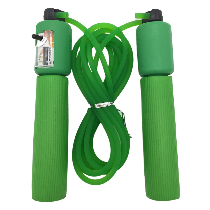 Rubber Rope Count Jump Rope Children Young STUDENT'S Adult Pattern Skipping Rope Students The Academic Test For The Junior High
