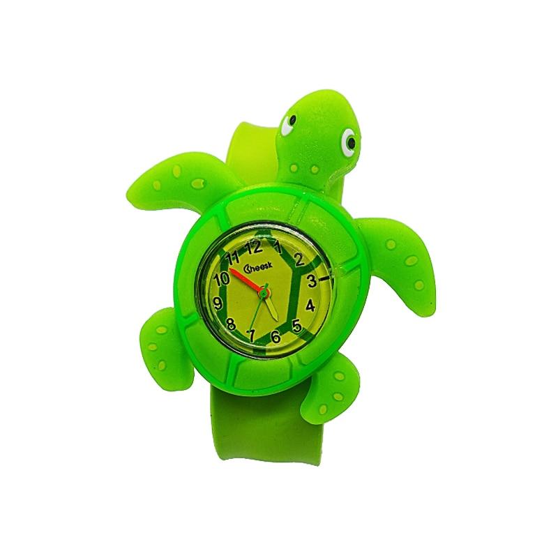 Relogio Infantil 2019 New Cartoon Turtle Children Watch Tortoise Watches Kids Fashion Cute Rubber Leather Quartz Watch Child