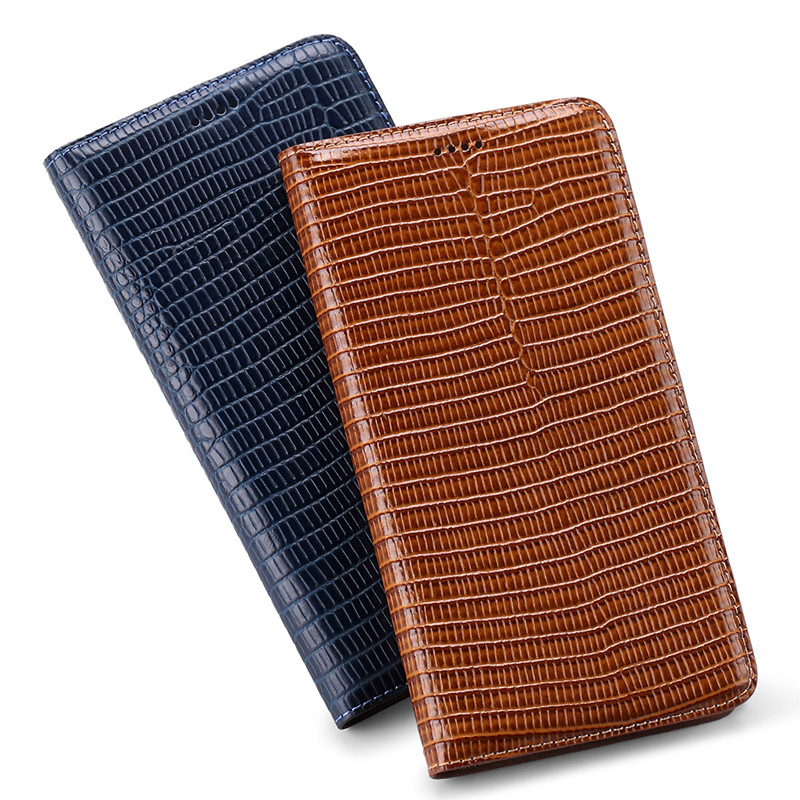 Cowhide Genuine <font><b>leather</b></font> Cards Slot Holder Phone <font><b>Case</b></font> For <font><b>Nokia</b></font> 7.2/<font><b>Nokia</b></font> 6.2/<font><b>Nokia</b></font> <font><b>6.1</b></font> Plus <font><b>Flip</b></font> Cover Magnetic Holster Coque image