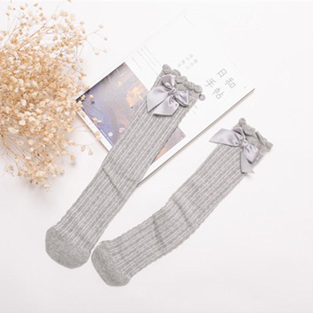 OUTAD Baby Half Bow Socks Baby Knee Pads High Long Soft Cotton Newborns Baby Socks For Girls Winter Anti Slip Socks New Sale