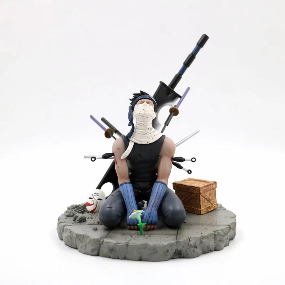 15cm Naruto Momochi Zabuza Anime Collectible Action Figure PVC Collection Model Toys Brinquedos For Christmas Gift
