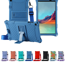 Silicone Case For Alldocube Iplay 8T(T802) 8inch Tablet  Stand Cove For Cube IPLAY8T 2021 NEW Fundas + Stylus Free