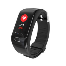 Multifunctional smart watch 2019 Intelligent Bracelet Heart Rate and Blood Pressure Monitoring Waterproof Motion Meter Walking