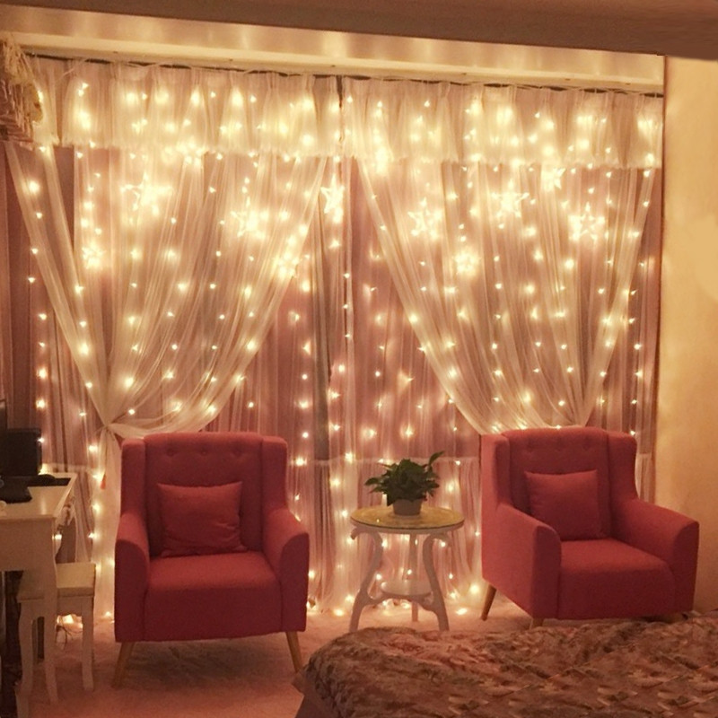 3 3m Led Curtain String Lights Fairy