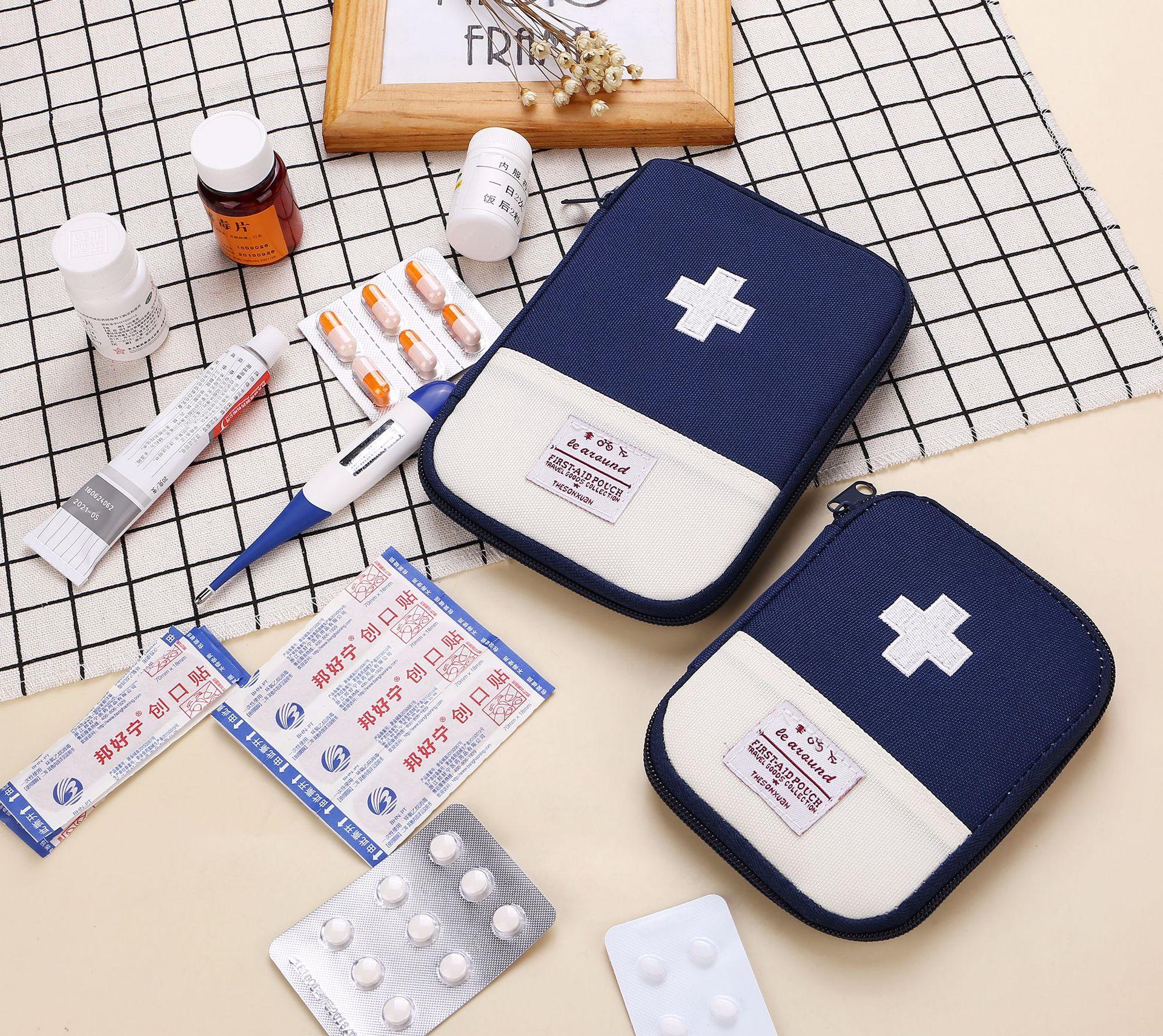Портативная уличная аптечка первой помощи, дорожная аптечка, аварийный набор, маленькие медицинские разделители, органайзер для хранения