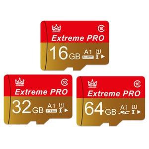 Карта памяти, высокоскоростная карта памяти для видеосъемки A1, 64 ГБ, 128 ГБ, класс 10, карта U1, карта Mirco-SD, 32 ГБ, V10, TF-карта для 4K