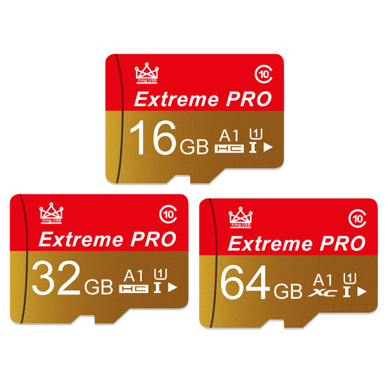 Memory Card High Speed Endurance A1 64GB 128GB Class 10 UHS-I U1 Mirco SD Card 32GB V10 TF Card For 4K Video
