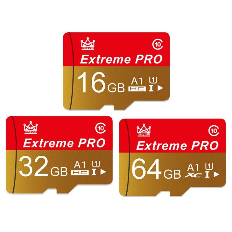 Memory Card High Speed Endurance A1 64GB 128GB Class 10 UHS-I U1 Mirco SD Card 32GB V10 TF Card For 4K Video