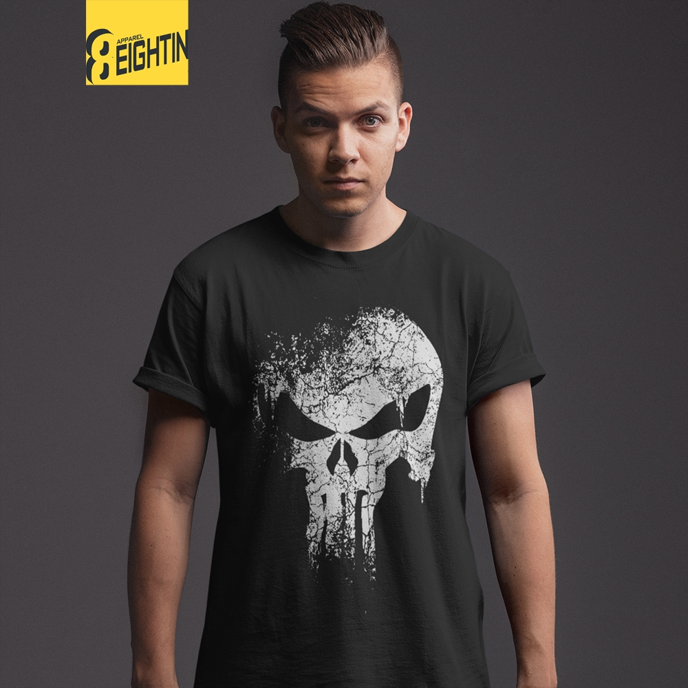 Two Sides The Punisher Tshirt Tee New T-Shirt For Men/'s