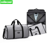 Mens Garment Bags Women Travel Shoulder Bag 2 In 1 Large Luggage Duffel Totes Carry On Leisure Hand Bag Waterproof Travel Bag