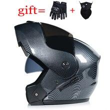 Последний DOT одобренный безопасный модульный флип мотоциклетный шлем Вояж гоночный двойной объектив шлем внутренний козырек добродетель-903
