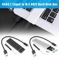 2019 USB chaud 3.1 Type C à M.2 PCIe boîtier adaptateur boîtier pour NVME SATA SSD pour DOY