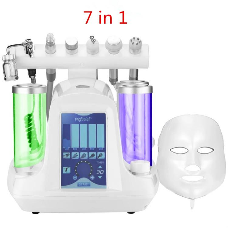 2020 New Arrival Professional Facial Machine  Face Deep Cleaner Skin Care Multifunctional Facial Spa Equipment