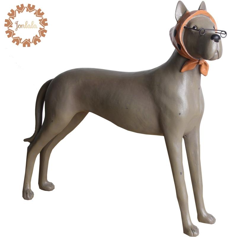 Brýle Kreativní osobnost Pryskyřice Roztomilé štěně Barevné Matné malované brýle Pes / krásné Ručně malované ozdoby Hravé, nejlepší dárek