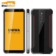 UNIWA X5 5.5 Inch Cellphobne 1GB 16GB Android 6.0 Quad Core Smart Phone Fingerprint Unlocked Mobile Phone Rugged Style 3100mAh