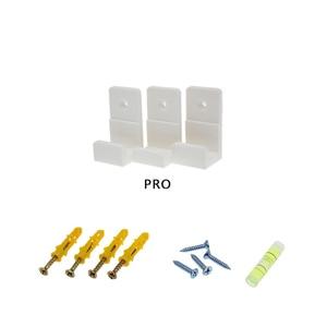 Image 5 - Duvar montaj braketi PlayStation 4 için PS4 Slim Pro oyun konsolu duvar standı depolama Anti skid darbeye dayanıklı koruma konsolu tutucu