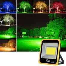 30 Вт cob светодиодный светильник для сада поисковый наводнения