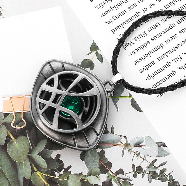Doctor Strange Infinity War Eye of Agamotto Necklace Pendant (6 Designs) 5
