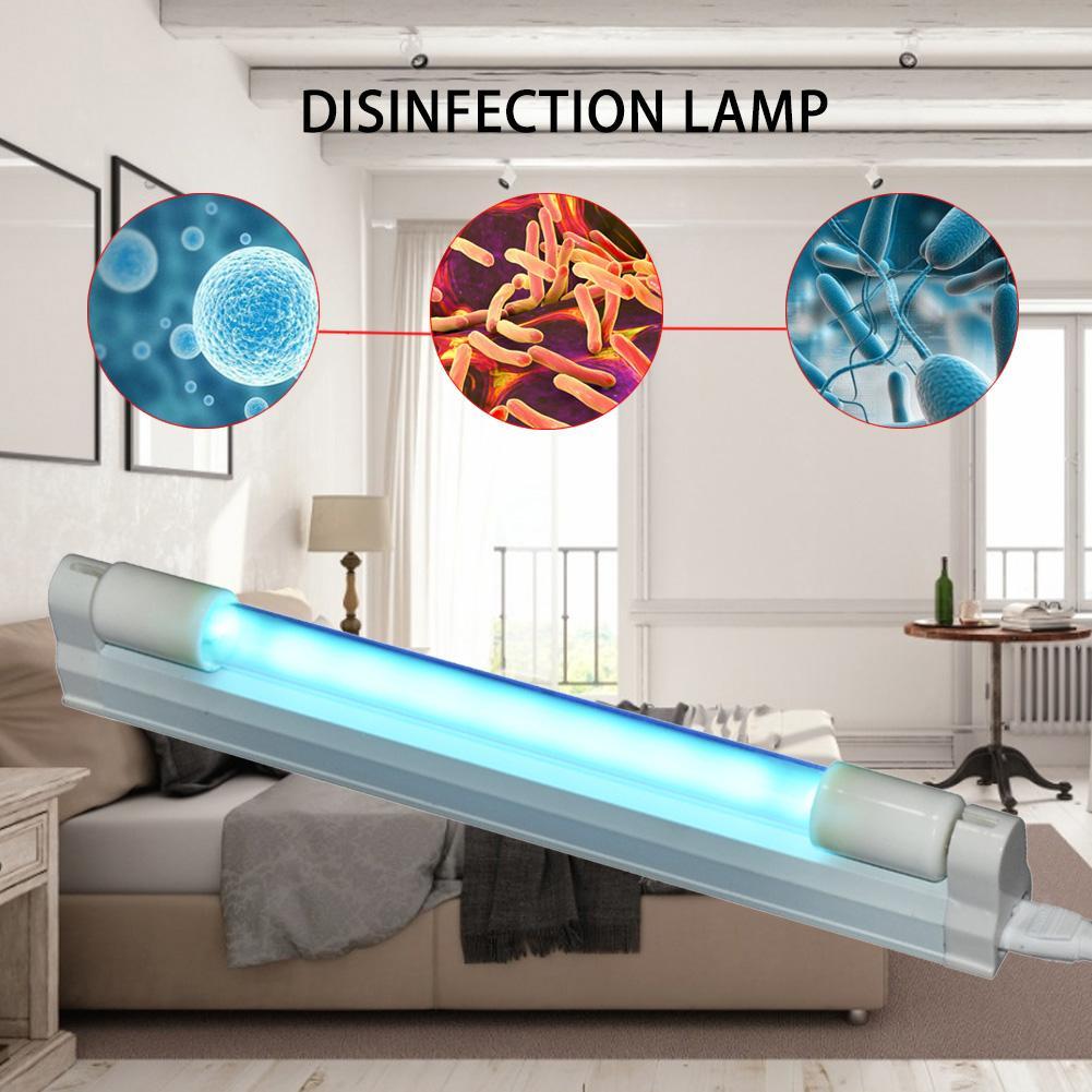 6w UVC Sterilization Lamp Durable Quartz Lamp With Ceramic Head UV Desinfection Sterilizer For Wardrobe Hotel Home Use