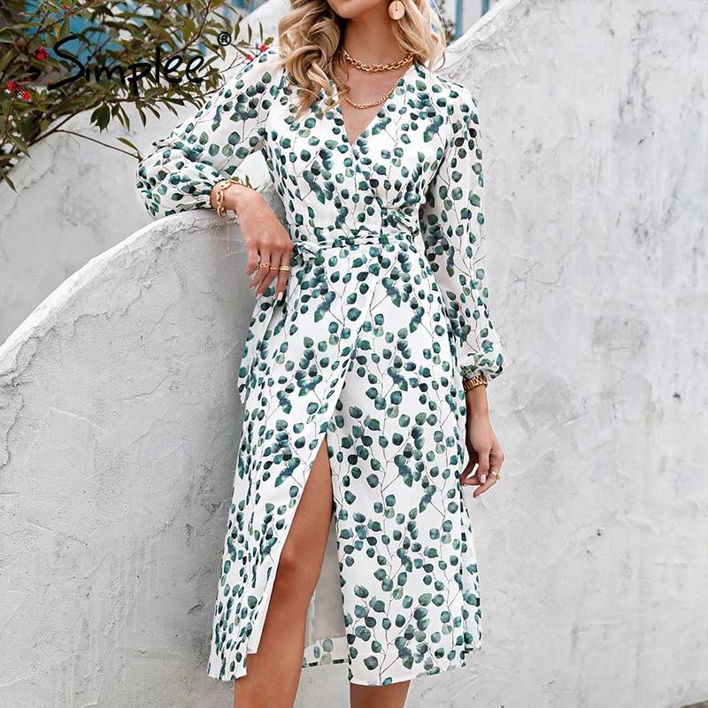 Simplee-printed-dress