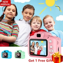 Mini Digital Camera Toys for Kids 2 Inch HD Screen Chargable Photography Props Cute Baby
