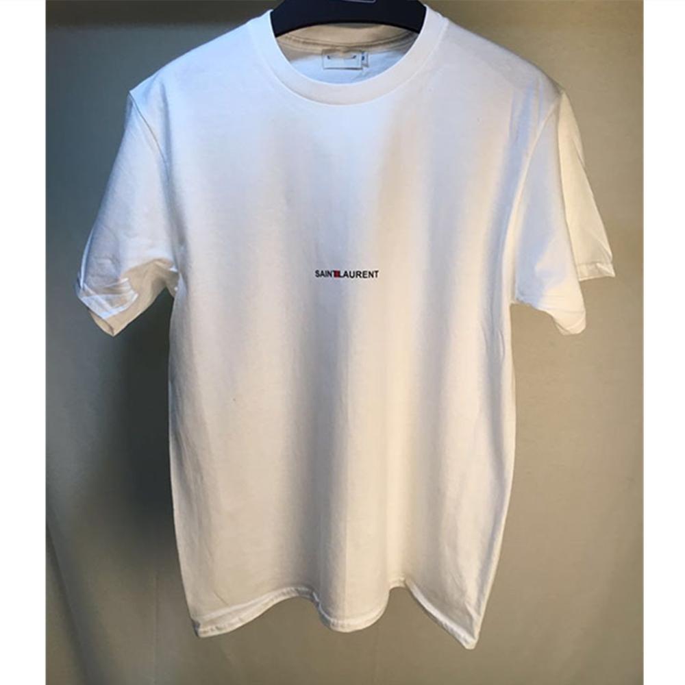 2021 nouveau Printemps Femmes De Luxe De Mode Motif Lettre T-Shirt Femme Décontracté De Haute Qualité Marque Hauts Dames Broderie Coton T-shirts