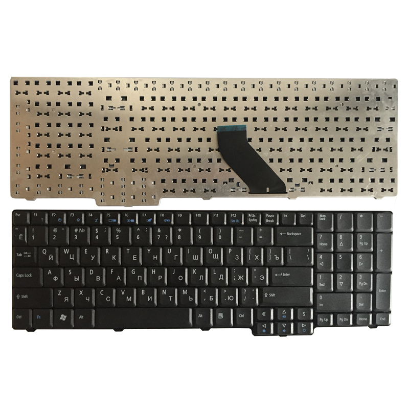 Russian Laptop Keyboard For Acer Extensa 5235 5635 5632 5635G 5635Z 7320 7330 7220 7220Z 7230 7230E 7620 7620G 7620Z RU Black