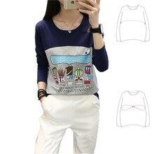 Pregnant T-Shirt Nursing-Clothes Maternity-Tops Long-Sleeve Breastfeeding Cotton Postnatal