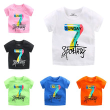 boys animal print t shirt Zi Ning Children's T-shirt for Boys Cartoon Animal Print Kids Tshirt Girls T Shirt Short Sleeve Summer Top Tees Boys Clothes 3