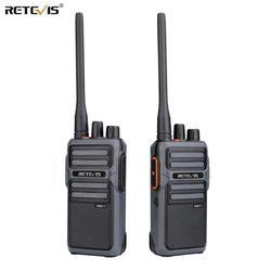 RETEVIS RB17/RB617 PMR Walkie Talkie 2 uds PMR446 Radio portátil bidireccional FRS walkie-talkie VOX tipo C carga USB 4400mAh batería