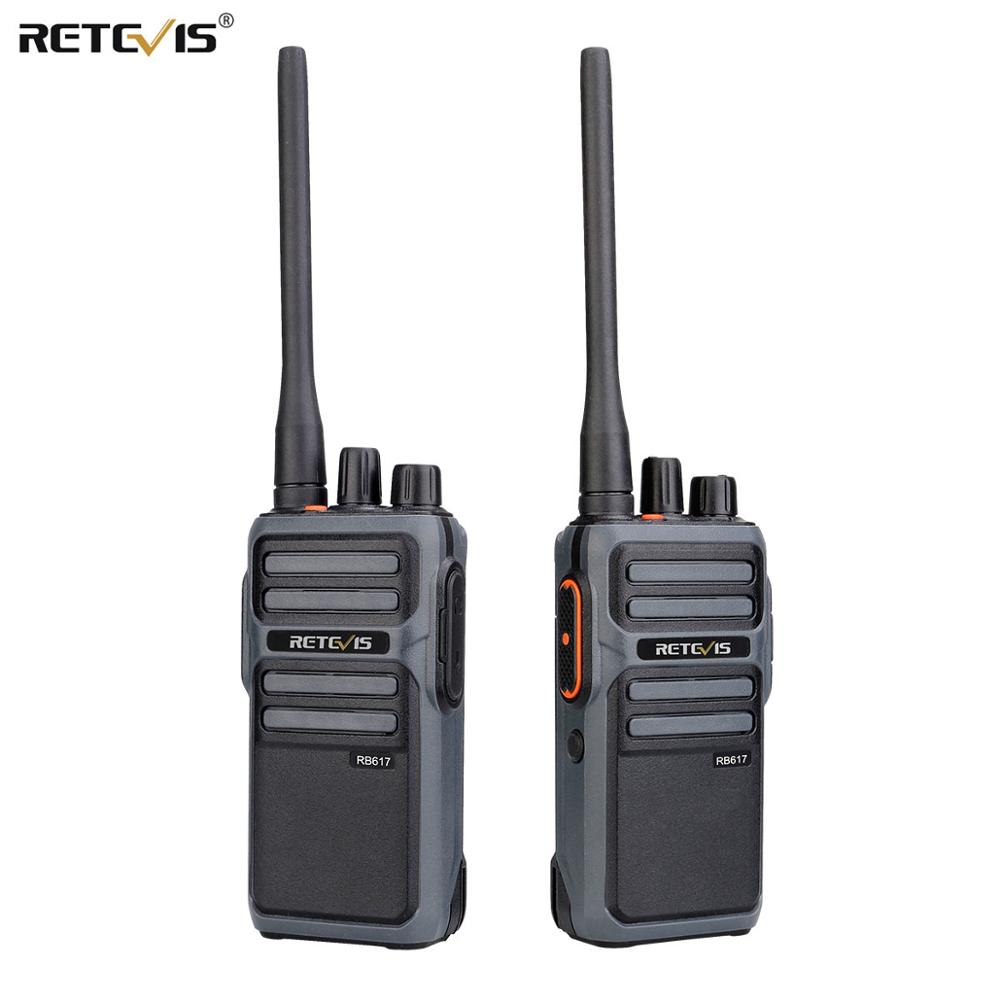 RETEVIS RB17/RB617 PMR Walkie Talkie 2pcs PMR446 Portable Two-way Radio FRS Walkie-talkie VOX Type-C USB Charge 4400mAh Battery