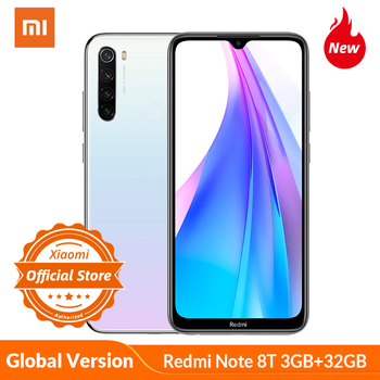 Global Version Xiaomi Redmi Note 8 T Note 8T 3GB 32GB Smartphone NFC 48MP Camera Snapdragon 665 Mobile Phone 4000mAh 18W charge