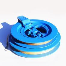 Наружный воздушный змей линия обмотки катушка сцепление колесо с летающим струнным инструментальным замком для кайта аксессуары для активного отдыха