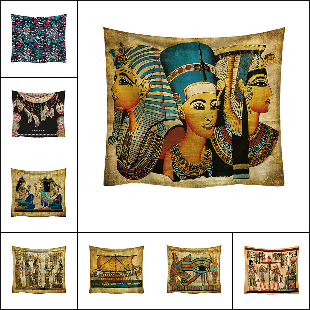 Hippie Indian Tapestry Sacred Egyptian Wall Hanging Home Bedspread Throw Decor