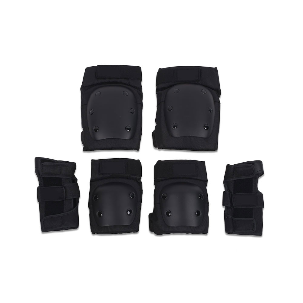Skateboard Skating Protector Set Knee Elbow Hand Protective Cover Safety Outfits