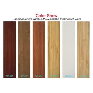 Image 5 - Бамбуковые подъемные жалюзи 35 мм, жалюзи индивидуального размера для украшения дома
