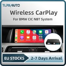 Bezprzewodowy Apple CarPlay Android Auto dekoder Box dla BMW E60 E70 E71 E84 F01 F02 F10 F11 F20 F25 F26 F30 F31 NBT System CIC tanie tanio TLPXAUTO CN (pochodzenie) Jedno złącze DIN pcba 1 5kg 320i 2009 2010 2011 2012 2013 2014 2015 12 v 28*20*18 EW-BMCP Chiński (uproszczony)