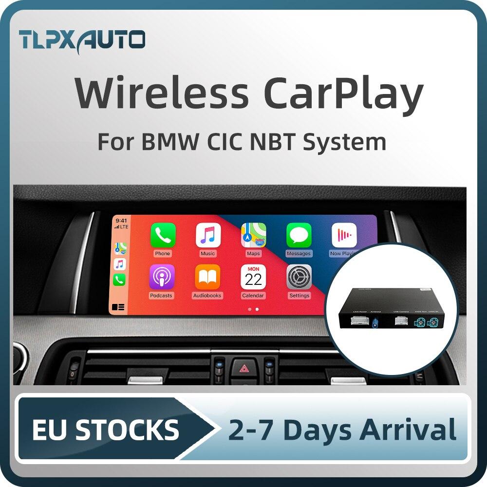 Беспроводной автомобильный декодер Apple CarPlay Android для BMW E60 E70 E71 E84 F01 F02 F10 F11 F20 F25 F26 F30 F31 NBT CIC система