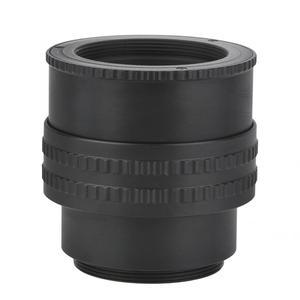 Image 1 - Wysokiej jakości M42 do M42 regulowane ogniskowanie Helicoid adapter obiektywu makro Tube akcesoria 25 55mm