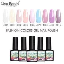 Clou Beaute Nail Gel Polish High Quality Nail Art Primer Gel Varnish lakier hybrydowy Soak Off UV LED Gel Nail Polish Gellak